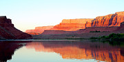 Cliff Lee Framed Prints - Colorado River At Dawn Panorama Framed Print by Douglas Taylor