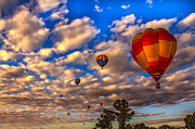 Balloon Aircraft Prints - Colorado River Crossing 2012 Print by Robert Bales