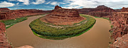 Panoramic Framed Prints - Colorado River Gooseneck Framed Print by Adam Romanowicz