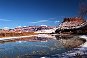 Southern Utah Prints - Colorado River Reflections Print by Adam Jewell