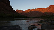 Colorado River Prints - Colorado River Sunset Print by Michael Bauer