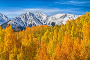 Bo Insogna Photos - Colorado Rocky Mountain Autumn Beauty by James Bo Insogna