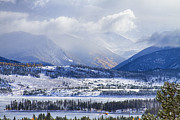 Summit County Colorado Posters - Colorado Rocky Mountain Autumn Storm Poster by James Bo Insogna