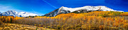 Bo Insogna Posters - Colorado Rocky Mountain Independence Pass Autumn Panorama Poster by James Bo Insogna
