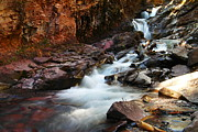 Creeks Prints - Colorado Waterfall Just Above Silverton Print by Jeff  Swan
