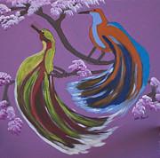 Kate Farrant - Colored Birds