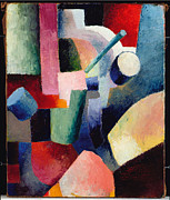 August Macke - Colored Composition of Forms by August Macke