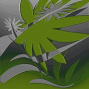 Graphics - Colored Jungle Green by Ben and Raisa Gertsberg