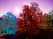 Lanscape Digital Art - Colored landscape 2 by Christian Simonian