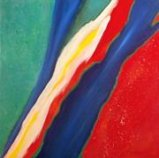 Karyn Robinson - Colorful Abstract Art - Torn