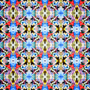 Phil Perkins - Colorful Angles Pattern