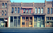 The Corner Room Photos - Colorful Buildings by Arnold Hylen