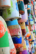 Lynn Jordan - Colorful Buoys