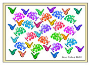 Bruce Nutting - Colorful Butterflies