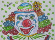 Kathy Marrs Chandler - Colorful Clown
