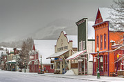 Crested Butte Prints - Colorful Crested Butte Print by Dusty Demerson