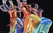 Katherine  Berlin - Colorful Dancers