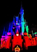 Magic Kingdom Photos - Colorful Disney by Benjamin Yeager