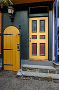 Art Of Building Prints - Colorful Doors Print by Susan Candelario