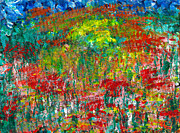 Luciana Raducanu - Colorful fields with...