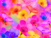 MotionAge Art and Design - Ahmet Asar - Colorful Flowers