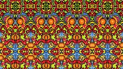 Julia Apostolova - Colorful Folklore Pattern
