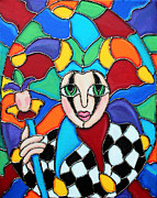 Cynthia Snyder - Colorful Jester