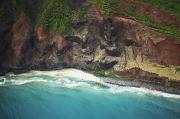 Featured Prints - Colorful Kauai Coast Print by Kicka Witte