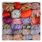 Les Palenik - Colorful knitting yarn -...