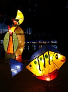 Yali Shi - Colorful Lantern at the...