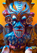 New York  The Metropolitan Museum Of Art Prints - Colorful Mask Print by Gregory Dyer
