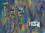 Barb Capeletti - Colorful Paint Brushes