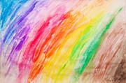 Colorful Painting Pattern Print by Michal Bednarek