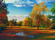 Sasa Prudkov - Colorful park on the...