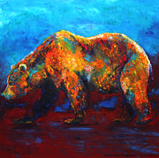 Jennifer Morrison Godshalk - Colorful Reflections Bear