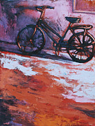 Cruiser Painting Posters - Colorful Ride Poster by Renee Kaup