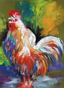 Melinda Etzold - Colorful Rooster