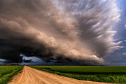 Shelf Originals - Colorful shelf cloud by Marko Korosec