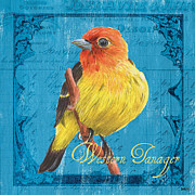 Debbie DeWitt - Colorful Songbirds 4
