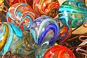 Lynn Jordan Art - Colorful Spheres by Lynn Jordan