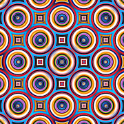 Stephen Rees - Colorful symmetrical...