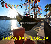 Tampa Bay Florida Prints - Colorful Tampa Bay Florida Print by David Lee Thompson