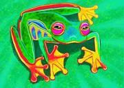 Nick Gustafson - Colorful Tree Frog