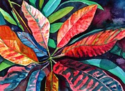 Marionette Taboniar - Colorful Tropical Leaves...