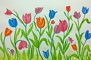 Surabhi Jain - Colorful Tulips