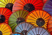Dorota Nowak Art - Colorful Umbrellas by Dorota Nowak