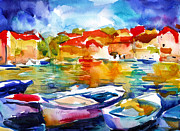 Svetlana Novikova - Colorful watercolor...