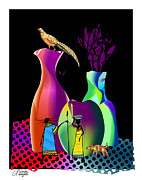 Arline Wagner - Colorful Whimsical Stll...