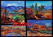 Colors Of Arizona Print by Elise Palmigiani