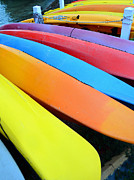 Kayaks Prints - Colors of Captiva Print by David Lee Thompson